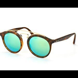 Ray Ban RB 4256 Gatsby retro modern sunglasses